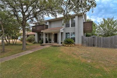 Austin Single Family Home For Sale: 1308 Lost Creek Blvd