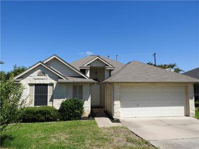 Leander Single Family Home For Sale: 1603 Rio Bravo Loop