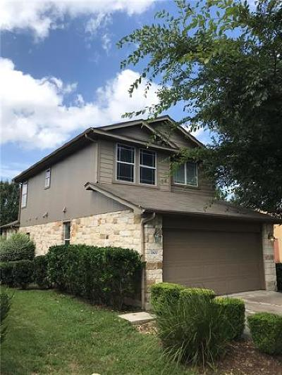 Hays County, Travis County, Williamson County Single Family Home For Sale: 1800 Marcus Abrams Blvd