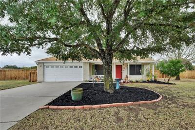 Round Rock Single Family Home For Sale: 1437 Huntington Trl