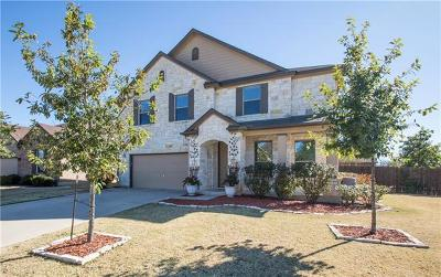 Round Rock Single Family Home Pending - Taking Backups: 1109 Hyde Park Dr