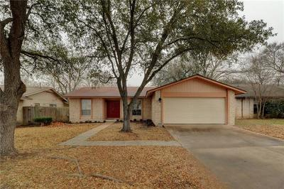 Single Family Home For Sale: 12103 Old Stage Trl