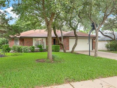 Cedar Park Single Family Home Pending - Taking Backups: 1207 Machado Rd