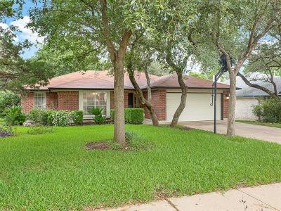Cedar Park Single Family Home For Sale: 1207 Machado Rd