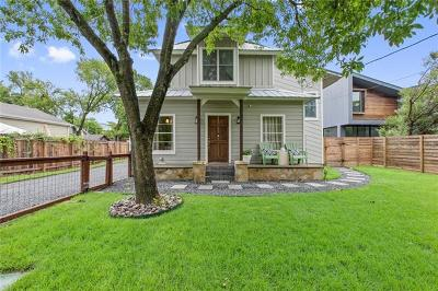 Austin TX Single Family Home Coming Soon: $899,000