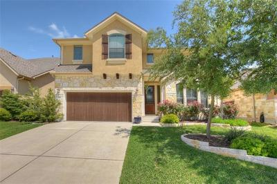 Round Rock Single Family Home For Sale: 1951 Kempwood Loop