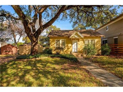 Austin Single Family Home For Sale: 1006 Woodland Ave