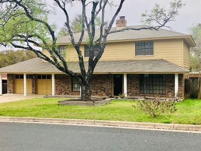 Austin Single Family Home For Sale: 1004 Weeping Willow Dr