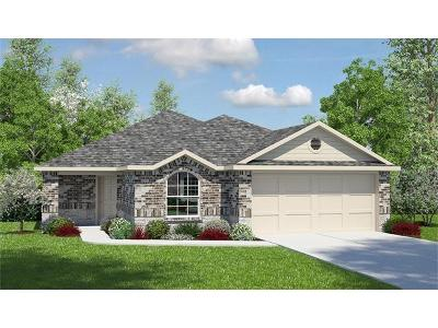 Hutto Single Family Home For Sale: 105 Acadia Cv