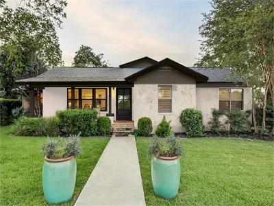 Highland Park West Single Family Home Pending - Taking Backups: 3300 Big Bend Dr