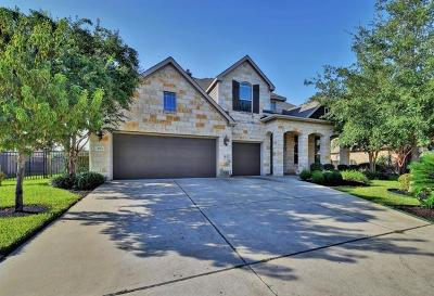 Round Rock Single Family Home Pending - Taking Backups: 4114 Grand Vista Cir