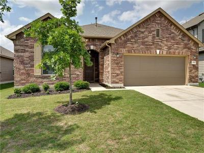 Round Rock Single Family Home For Sale: 5848 Sardinia Dr