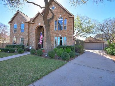 Round Rock Single Family Home For Sale: 1201 Hummingbird Ct