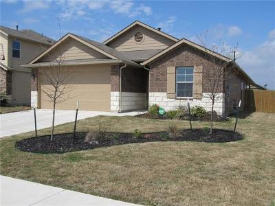 Hutto TX Single Family Home For Sale: $214,000