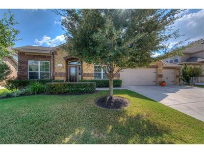 Round Rock Single Family Home For Sale: 2553 Los Alamos Pass