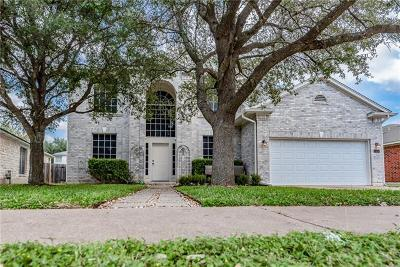 Travis County Single Family Home Pending - Taking Backups: 3904 Mocha Trl