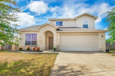 Elgin Single Family Home For Sale: 12816 Basket Flower Cv