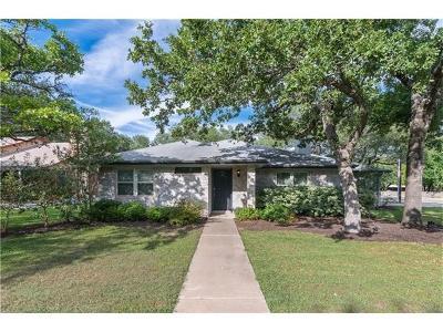 Cedar Park Single Family Home For Sale: 100 Settlers Dr