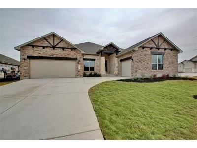Cedar Park Single Family Home For Sale: 600 Girassol Cv
