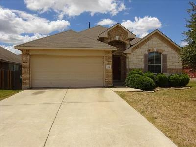 Round Rock Rental For Rent: 1212 Rainbow Parke Dr