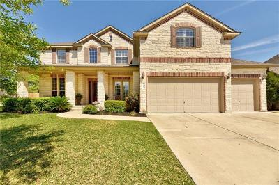 Cedar Park TX Single Family Home For Sale: $585,000