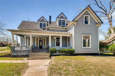 Williamson County Single Family Home For Sale: 406 S Roswell St