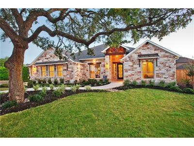 Round Rock Single Family Home For Sale: 3222 Mayfield Ranch Cv