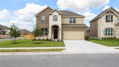 Round Rock Single Family Home For Sale: 6658 Verona Pl