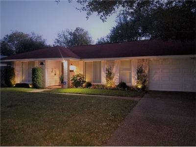 Austin Single Family Home Pending - Taking Backups: 3109 Stanwood Dr