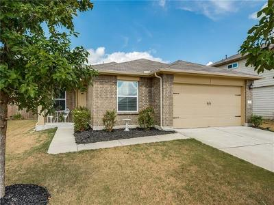 Hutto Single Family Home For Sale: 112 Hawkins Ct