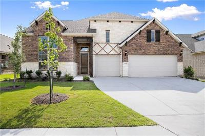 Round Rock Single Family Home For Sale: 6716 Calabria Dr