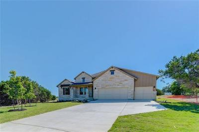 Dripping Springs Single Family Home For Sale: 170 Heritage Hollow Cv