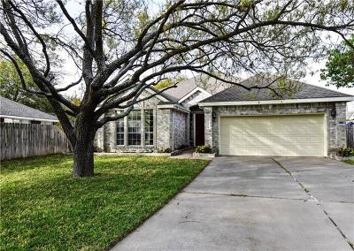 Pflugerville Single Family Home For Sale: 18008 Dansworth Dr