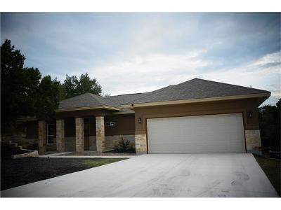 Lago Vista Single Family Home Pending - Taking Backups: 21205 Ridgeview Rd