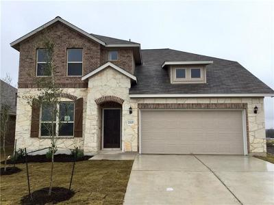 Manor Single Family Home For Sale: 11805 Carrizo Springs Path