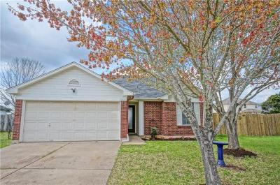Leander Single Family Home Pending - Taking Backups: 1309 Nightshade Ln