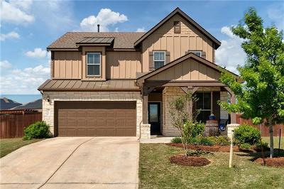 Leander Single Family Home Active Contingent: 2013 Prickly Pear Cv