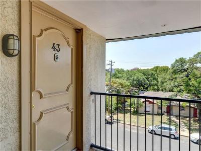 Austin Condo/Townhouse For Sale: 910 Duncan Ln #43