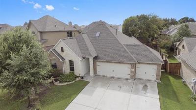 Round Rock Single Family Home For Sale: 2904 Saint Federico Way