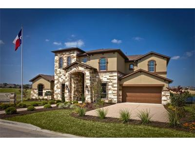 Round Rock Single Family Home For Sale: 4407 Sansone Dr