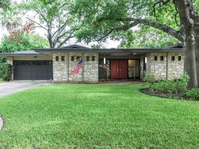 Austin Single Family Home For Sale: 3014 Yellowpine Ter