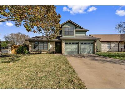 Leander Single Family Home For Sale: 2600 S Walker Dr