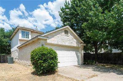 Leander Single Family Home For Sale: 2611 Johnathan Way