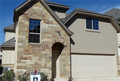 Travis County, Williamson County Single Family Home For Sale: 13001 Hymeadow Dr #10