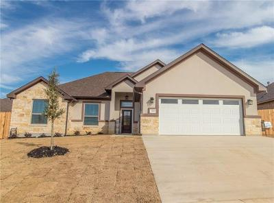 Jarrell Single Family Home For Sale: 308 Western Sky Trl