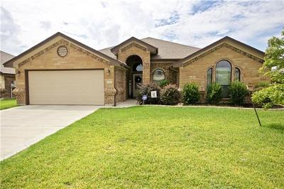 Harker Heights Single Family Home Active Contingent: 1110 Doc Whitten Dr