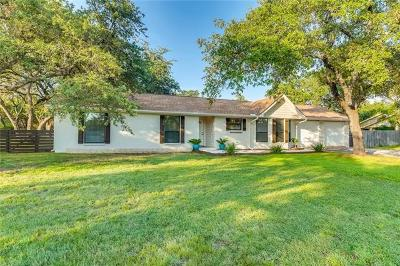 Travis County Single Family Home Pending - Taking Backups: 9900 Murmuring Creek Dr