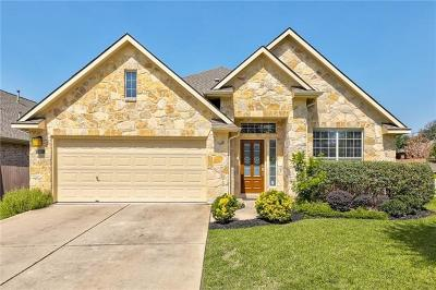 Cedar Park Single Family Home Pending - Taking Backups: 301 Steer Acres Ct