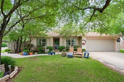 Leander Single Family Home For Sale: 3401 Merlot Cv