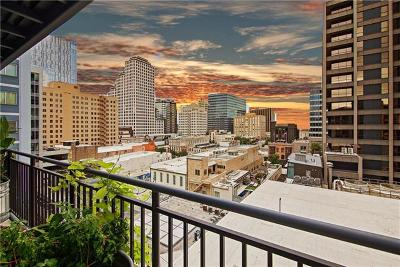 Austin Condo/Townhouse For Sale: 800 Brazos St #1009